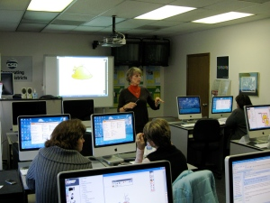 Nancy teaches Promethean