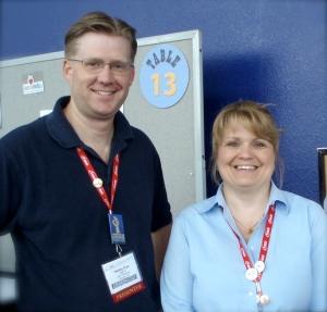 Wes Fryer and Karen Montgomery