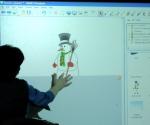 SMART Board Snowman