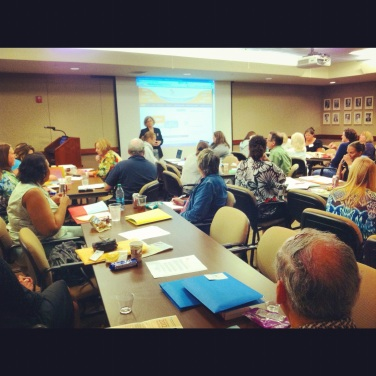photo from last summer's Gateway Media Literacy Partner's Education Community Engagement event