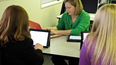 Teachers with iPad