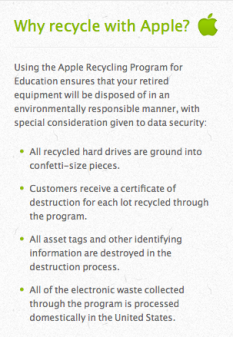 apple recycle
