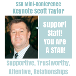 Support Staff! You Are A STAR!