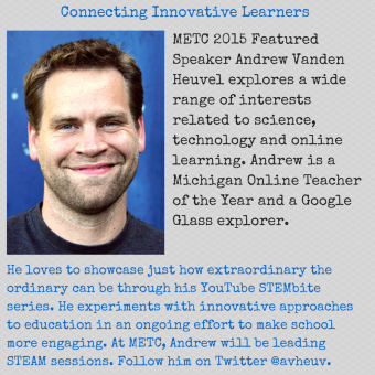 Featured Speaker Andrew Vanden Heuvel