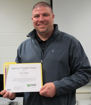 Don Goble, MIH Teacher Winner, cropped