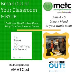 Metc Summer Pd Breakout Of Your Classroom Google Metcsi